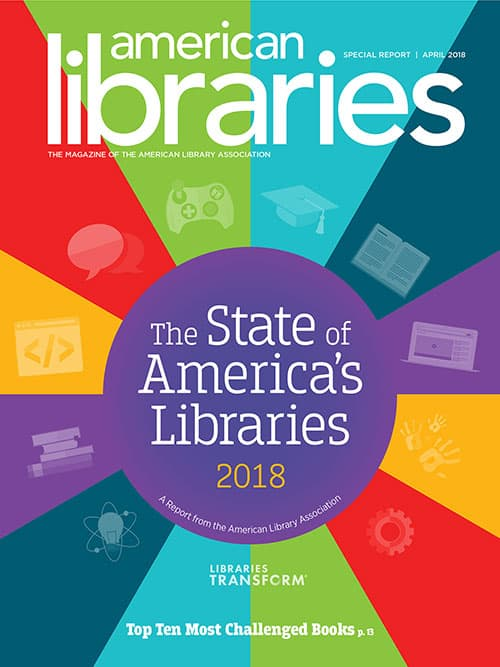 2018 State of America's Libraries cover