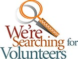 We're searching for volunteers