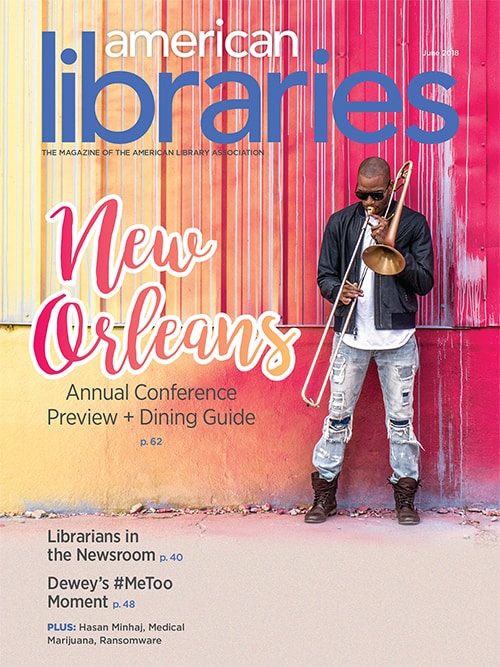 American Libraries June 2018 cover