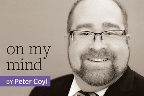 On My Mind, by Peter Coyl