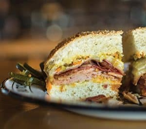 Cochon muffuletta at Cochon Butcher. Photo: Chris Granger