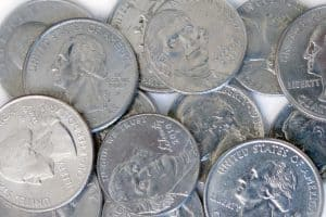 Coins for library fines