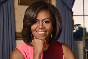 Michelle Obama, photo by David Slijper
