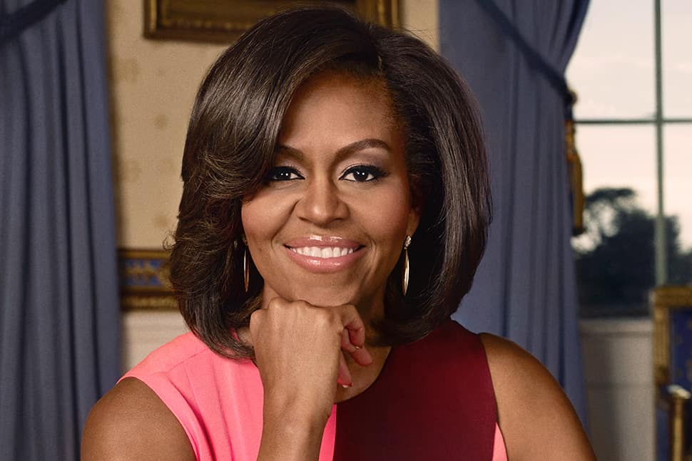 Michelle Obama, photo by David Slijper