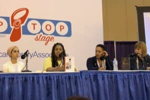 """""""Teen Voices Lead the Way"""" panel"""