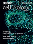 Cover of Nature Cell Biology