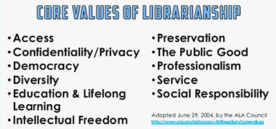 ALA Core Values