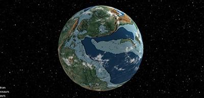 Earth, 240 million years ago