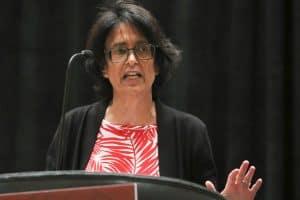 Author Sue Halpern at Carnegie Awards celebration