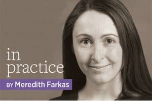 In Practice by Meredith Farkas