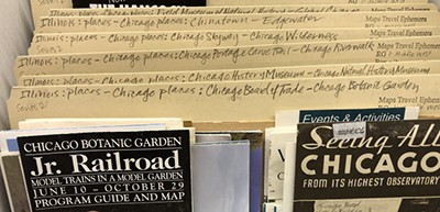 The Newberry Library's geo-specific map folders offer easy access
