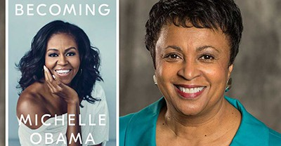 Michelle Obama's book, Becoming, and Librarian of Congress Carla Hayden