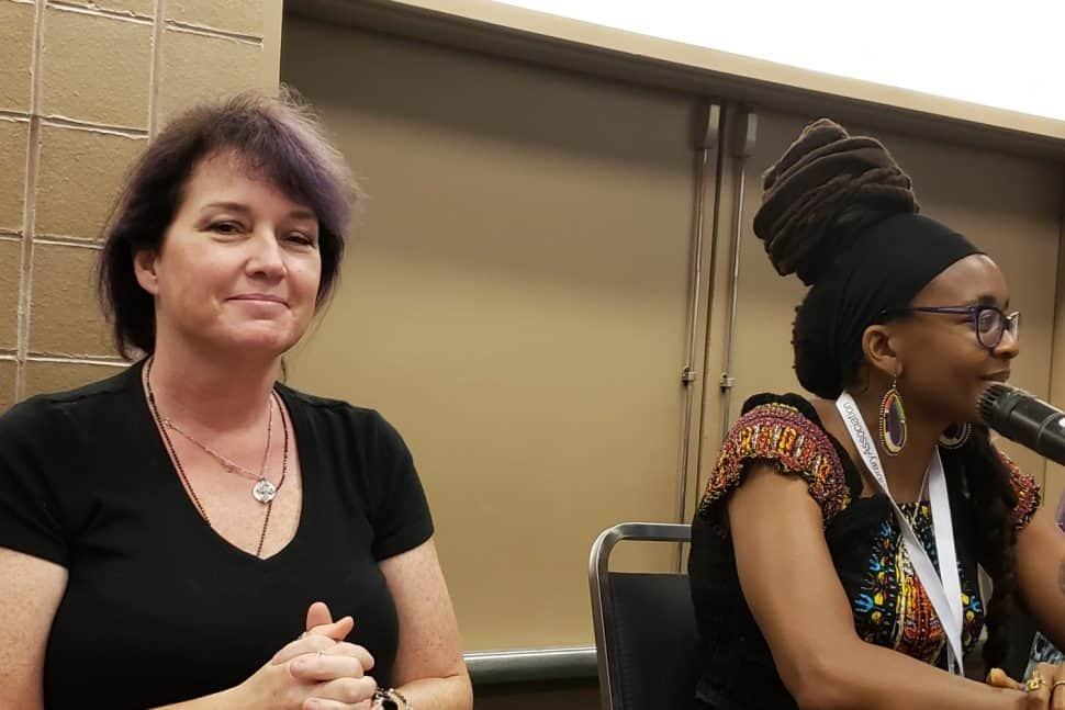 Authors Sherrilyn Kenyon and Nnedi Okorafor