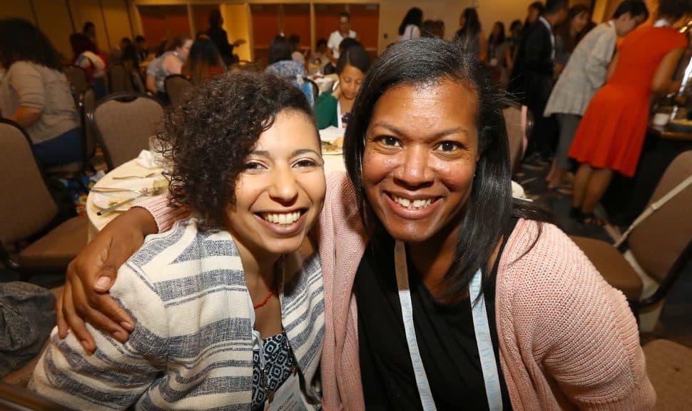 2017-2018 Spectrum Scholars Carli V. Lowe and Darnetta Bolton