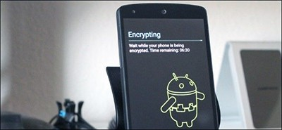 Android phone encryption