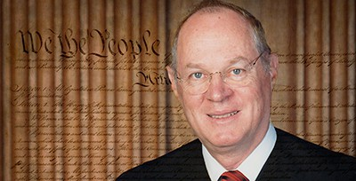 Retiring Supreme Court Justice Anthony Kennedy