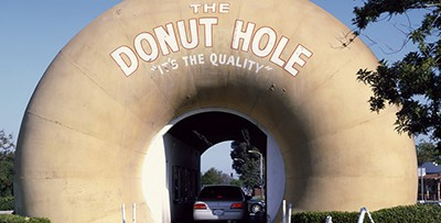 The Donut Hole, La Puente, California