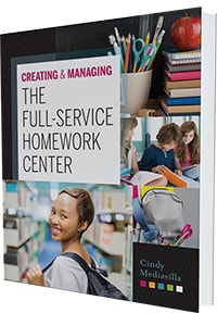 Cover of Creating and Managing the Full-Service Homework Center by Cindy Mediavilla