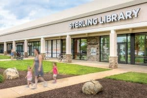 Loudoun County (Va.) Public Library used a vacant space in a shopping center for its Sterling branch. Photo: Sam Kittner