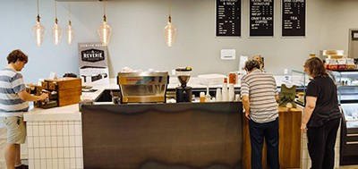 The new Reverie cafe is now open inside Wichita's Advanced Learning Library, and it's okay to take your coffee while you browse