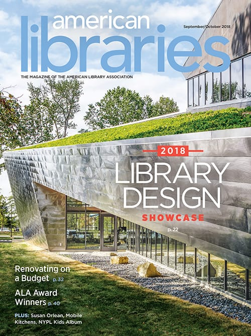 American Libraries September/October 2018 cover