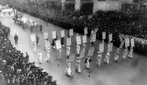 Women's Suffrage Parade, New York City, 1915