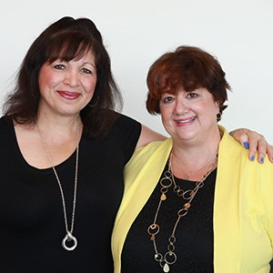 Yvonne Cech (left) and Diana Haneski