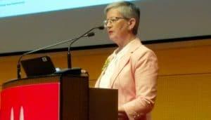IFLA President-Elect Christine Mackenzie at the World Library and Information Congress, Kuala Lumpur, Malaysia.