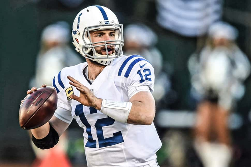 Andrew Luck Photo: Indianapolis Colts