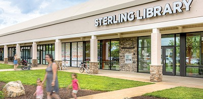 Loudoun County (Va.) Public Library used a vacant space in a shopping center for its Sterling branch