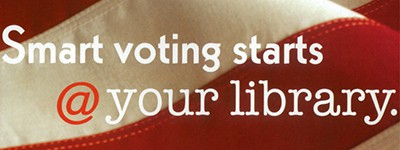 Smart voting starts @ your library