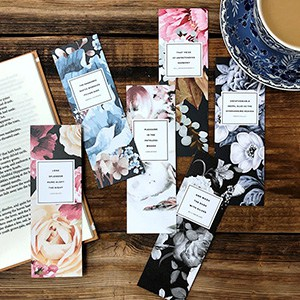Obvious State floral bookmarks (Photo: Obvious State)