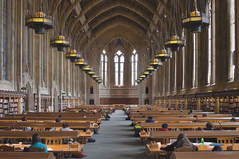 Reading Room at University of Washington's Suzzallo Library (Photo: Katherine B. Turner)