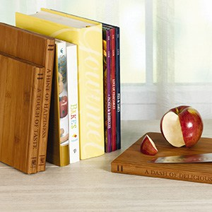 Library Bamboo 3-Piece Cutting Board Set (Photo: Home Depot)