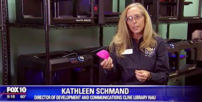 Kathleen Schmand, Cline Library, Northern Arizona University