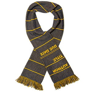Library Card Scarf (Photo: Out of Print)