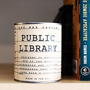 Public Library Candle (Photo: Cool Material)