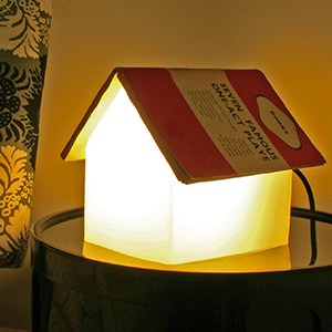 House-shaped bedside reading light (Photo: Suck.UK)