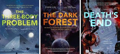 The Three-Body trilogy, by Liu Cixin