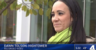 Dawn Tolson-Hightower, who took the video of the incident