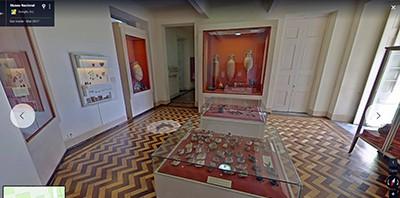 Google's reconstruction of Brazil's National Museum