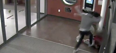Screenshot from Dayton library security cam