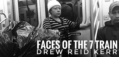 Faces of the 7 Train exhibition announcement