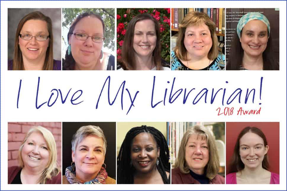 2018 I Love My Librarian award winners