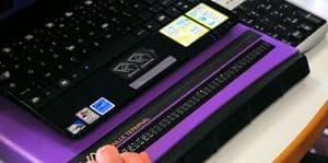 Screen reading hardware