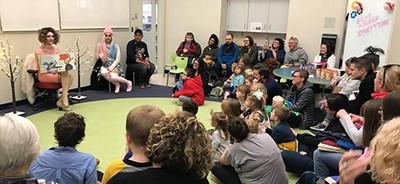 Drag Queen Story Time at the Worcester (Mass.) Public Library