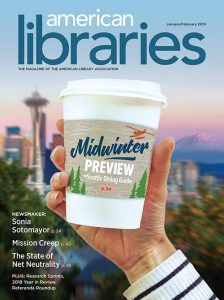 American Libraries January/February 2019 cover