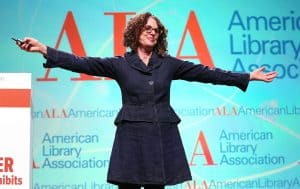 Robin DiAngelo at the President's Program, ALA 2019 Midwinter Meeting, Seattle.
