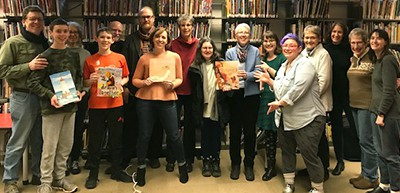 Mock Caldecott for Adults at the Takoma Park (Md.) Library