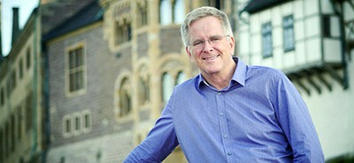 Rick Steves. Photo by Tim Frakes